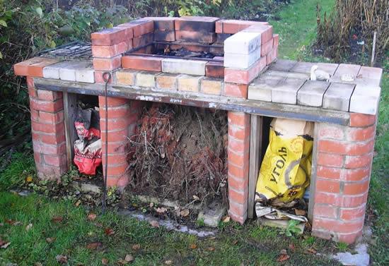Как на даче сделать барбекю