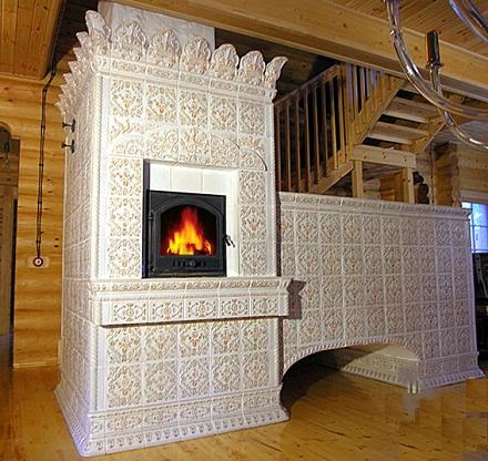 Чем облицевать кирпичную печь в доме